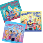 Bible STORIES for Kids #1-3 COMBO Listening CDs
